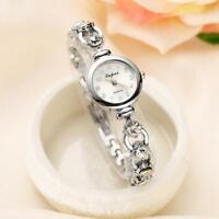 Luxury Women's Ladies Watch Stainless Steel Leather Bracelet Wrist Watches Gifts