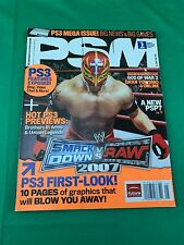 PSM Playstation Magazine May 2006 Issue 110 Smack Down Vs Raw 2007