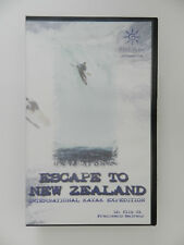 VHS Video Kassette Escape to New Zealand International Kayak Expedition Italieni
