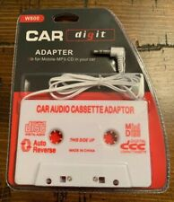 Car Audio Cassette Adapter For Mobile -Mp3- Cd In Your Car