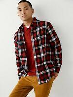 True Religion 'LS Utility' Men's Plaid Shirt - Size M - $89 MSRP