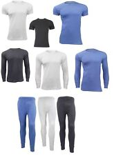 Men's Thermal Underwear Vest T Shirt Top Long Sleeve Long John Ski Warm Winter