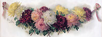 Bouquet of Chrysanthemums by Paul de Longpre (Vintage Art Print)