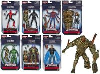 Spiderman Marvel Legends Wave 12 Set of 7 Figures Molten Man BAF IN STOCK