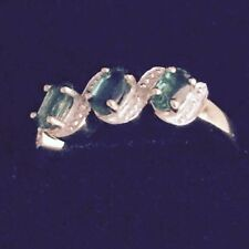 Gold Emerald Fine Rings