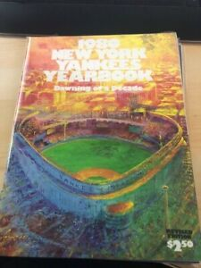 1980 New York Yankees Yearbook Thurman Munson, Reggie Jackson