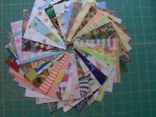 "60 children's prints  cotton fabric quilt squares 4 1/2"" x 4 1/2""    SQ1898"