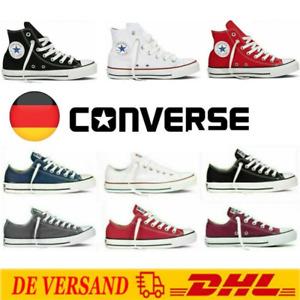 Cnverse Unisex Chucks Taylor Schuhe All-Star Sneaker Top Turnschuhe 2021 Gr35-44