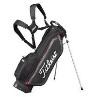Titleist Japan Golf Caddy Carry Light Weight Stand Bag 7.5inch CBS76 Black