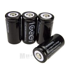 4Pcs 16340 CR123A SF123A CR123 2000Mah Rechargeable Lithium Li-Ion Battery New