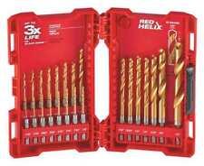 MILWAUKEE 48-89-4631 Drill Bit Set,Titanium,135 deg. G1995080
