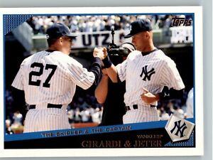 2009 Topps Update Baseball #UH69 Girardi & Jeter - New York Yankees