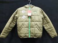 The North Face Olive Green Reversible Perrito Insulated Jacket Size YOUTH Large