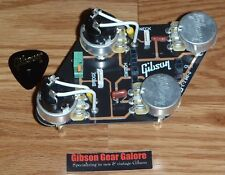 Gibson Les Paul Pot Control Board Split Coil CTS Guitar Parts HP Quick Connect B