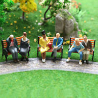 24pcs O scale All Seated Figures 1:43 Painted People Model Railway NEW P4803