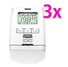 3er Set Elektronischer Heizkörperthermostat Thermostat Thermostatventil HT 2000
