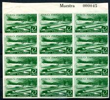 España 1938 722pu arco parte ungummiert (z7081b
