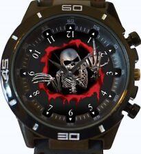 Reloj Pulsera cráneo Esqueleto Dedo Divertido Nuevo Deportivo GT Series