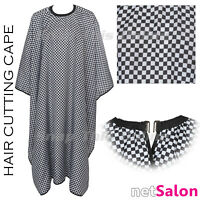 Salon Hairdressing Cutting Cape Hair Cut Barber Gown Apron Hairdresser Adult UK