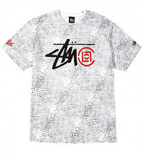 Stussy x Clot Year of The Snake Tee Size XL Snakeskin White Extra Large 2013 B