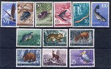 YUGOSLAVIA 1954 Fauna set fine MNH / **