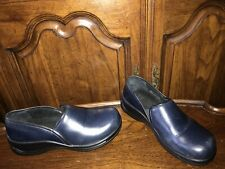 Dansko Blue Leather Professional Clogs Women's SIze EU 41 / US 10