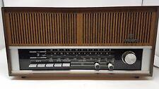Vintage Grundig Solid State Radio Model RF 121U AM FM Turns on Needs Work
