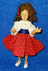 "ROBERT RAIKES   All American Girl  9"" Wooden Fully Jointed Doll From a Kit"