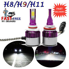 CREE H8 H9 H11 180W LED Headlight Bulbs 6000K Conversion Kit Lights Replace HID