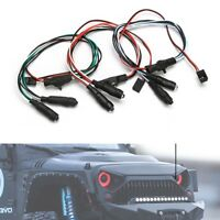 DIY 1/10 RC Car Rock Crawler LED Lights Headlight Fit For Axial SCX10 RC4WD