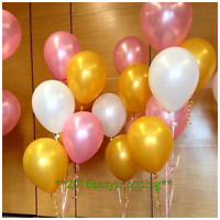 or rose perle blanche ballons assortis RUBANS RUBAN ST.VALENTIN Balons