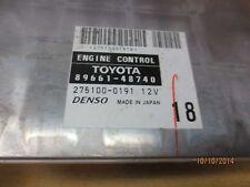 05 Toyota Highlander 2.4L FWD ECU ECM PCM Engine Module Computer 89661-48740
