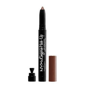 NYX Lip Lingerie Push Up Long Lasting Lipstick Teddy Vegan 0.05 oz Nude Matte