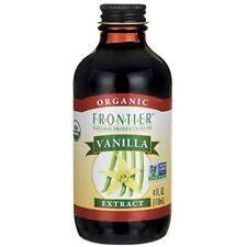 Frontier Organic Vanilla Extract 4 Ounce