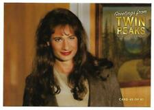 TWIN PEAKS GOLD BOX DVD POSTCARD #45 DAVID DUCHOVNEY  AS AGENT DENISE BRYSON