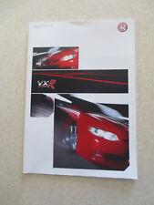 Original 2005 Vauxhall Monaro VXR & Astra VXR advertising booklet