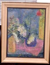 OLD FINE ABSTRACT IMPRESSIONIST STILL LIFE 18