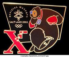 OLYMPIC PIN 2002 SALT LAKE XEROX SPONSOR MASCOT COAL