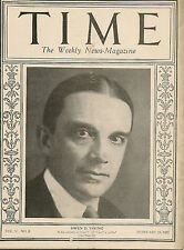 Time Magazine February 23 1925 Owen D. Young.