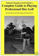 Scott Stokely Instructional Manual Disc Golf