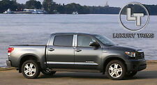 Toyota Tundra Crew Max Stainless Chrome Pillar Posts - Luxury Trims 2007-2019 4p