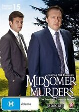 Midsomer Murders : Season 15 : Part 2 (DVD, 2013, 2-Disc Set), NEW REGION 4