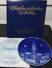 1991 BING & GRONDAHL Christmas In America B&G PLATE
