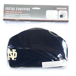 Colosseum Notre Dame Fighting Irish 2-Pack Facial Covering Face Masks - Adult