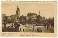 Square of Holy Ghost, Lwow/Lwiw, West Ukraine, 1917 Fieldpost