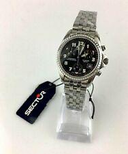 Watch Sector 900 Watch 2651984025 Swiss Steel Women's Vintage Chrono Sapphire