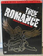 True Romance (DVD, 2002, 2-Disc Set, Two Disc Special Edition; Unrated) RARE NEW