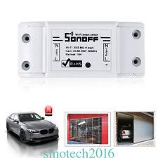 Sonoff WiFi Smart Switch Timer Fr IOS/Android APP Fernbedienung Steckdose Socket