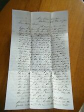 111th Pa. Inf.  Chaplain Letter dated March 1862 (transcribed) Baltimore, Md ++