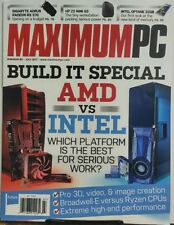 Maximum PC Jul 2017 Build It Special AMD vs Intel Which Is Best FREE SHIPPING sb
